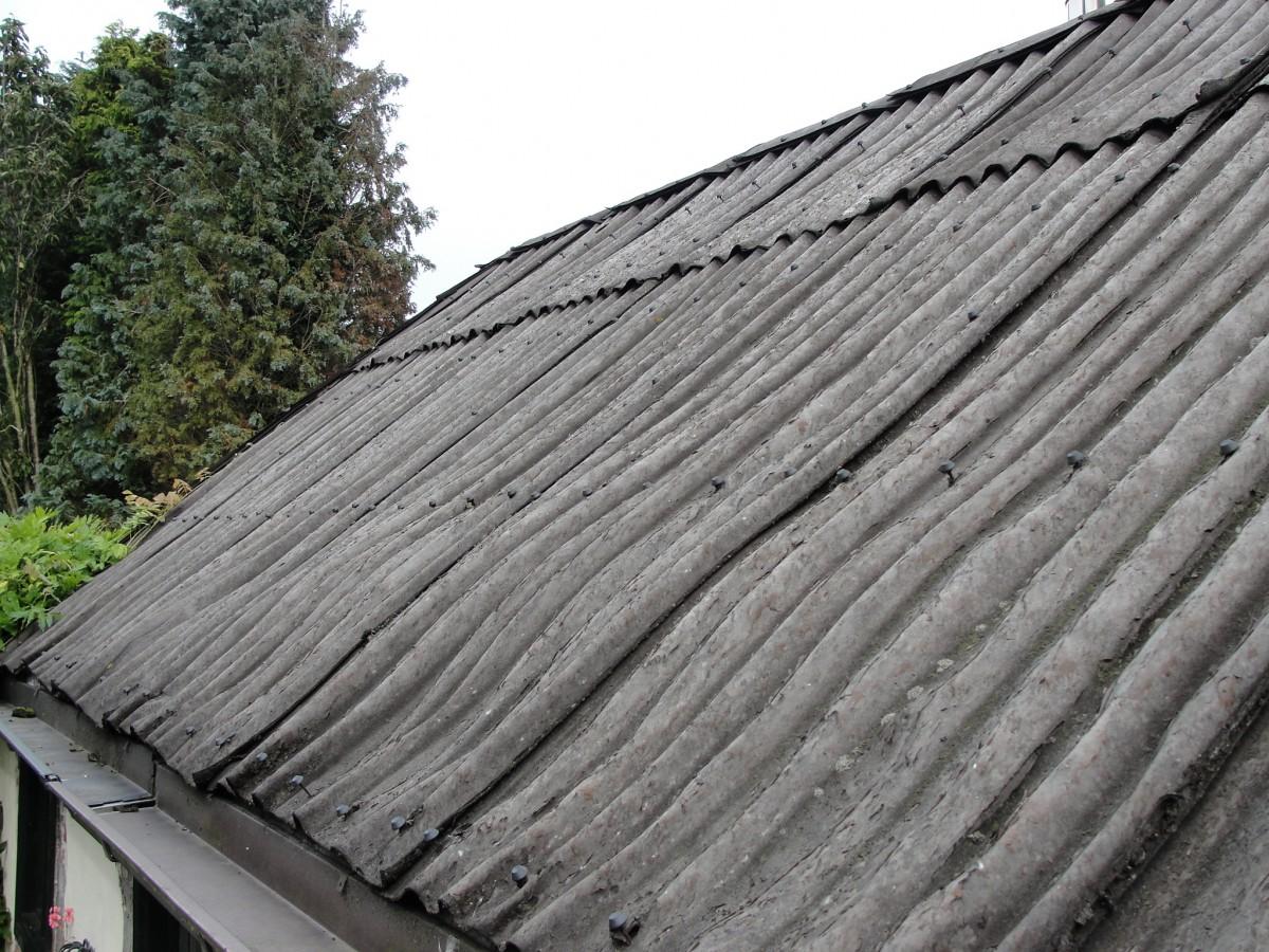 Asbest, da's niet best. Moet je 't wel of niet verwijderen?